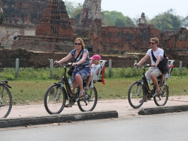 Colors of Ayutthaya Bicycle Ride Photos