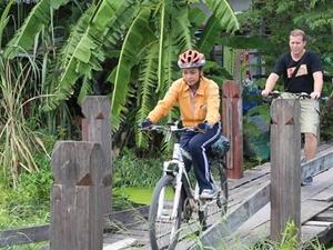 Ayutthaya City Culture Bicycle Ride Fotos