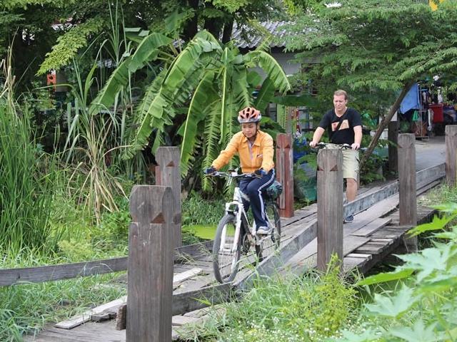 Ayutthaya City Culture Bicycle Ride Photos
