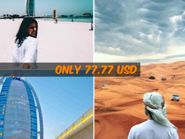 Dubai City and Desert Tour Photos