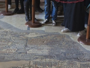Dead Sea One Day Tour, Madaba, Mount Nebo, Mosaic Map