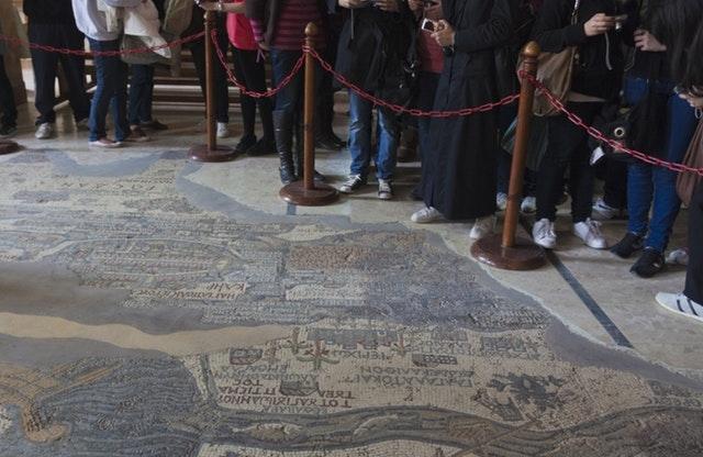 Dead Sea One Day Tour, Madaba, Mount Nebo, Mosaic Map Photos