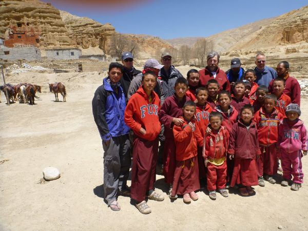 Upper Mustang Trekking in Nepal Photos