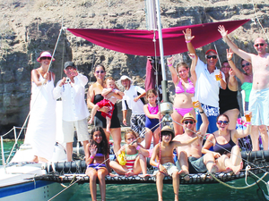 Kayak & Snorkel by Catamaran in Loreto Photos