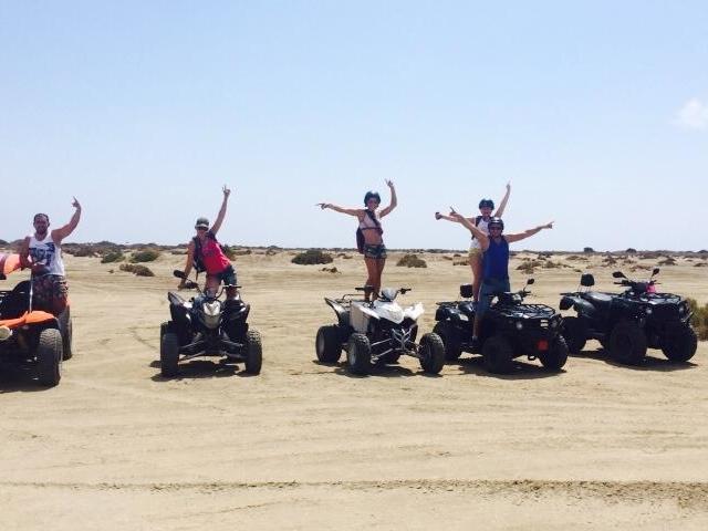 Lady's Mile - Kourion Beach Quad Safari Photos