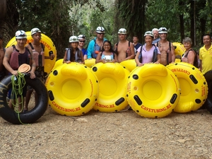 Cave Tubing with Vitalino Reyes Photos