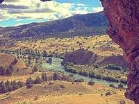 Panorama Of The Deschutes River