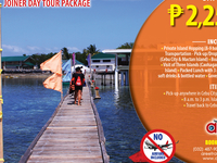 Cebu Mactan Island Hopping Joiner Tour Package