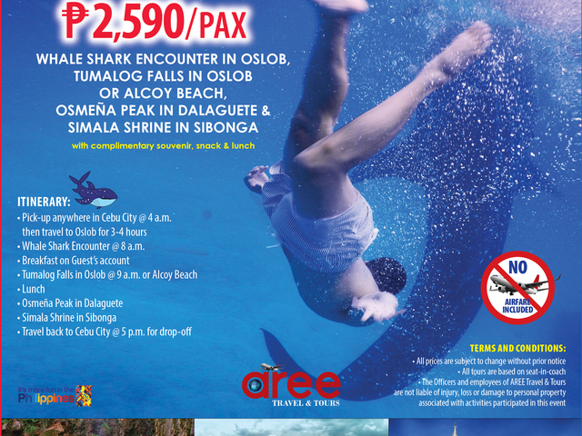 Day Tour Package A P2,590/Pax Photos