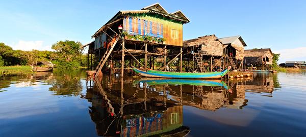 Kompong Phluk 2 Villages and Sunset Special Photos