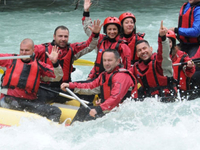 Rafting on Tara and Drina