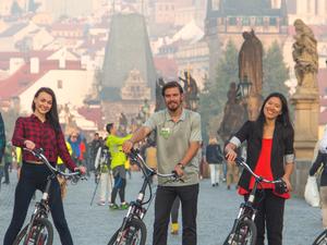 Electric Scooter Prague Tour Fotos