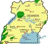 Uganda Travel Map