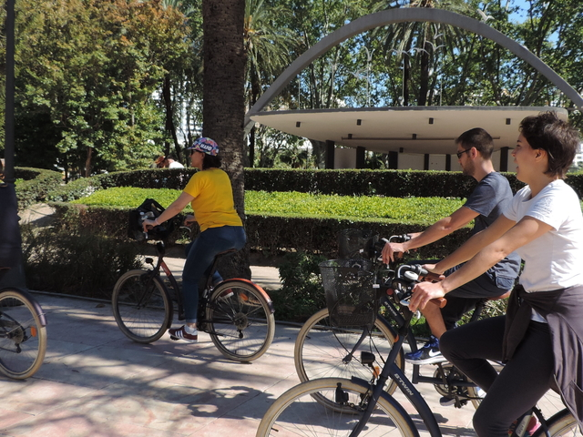 Free Bike Tour Malaga Photos