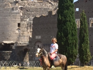 Archaeological Riding Adventure in Rome Photos