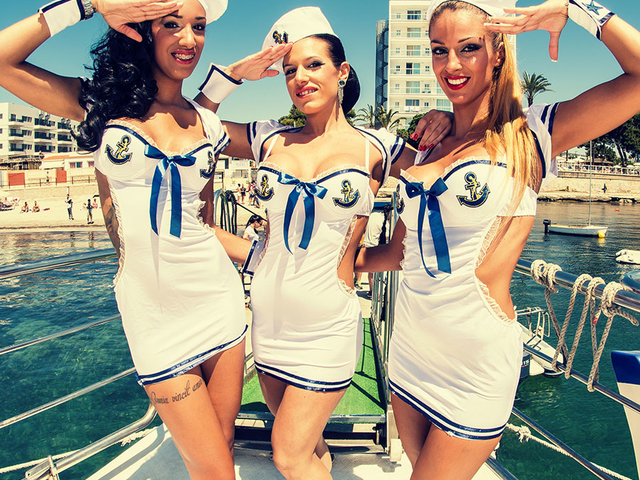 All Inclusive Oceanbeat Ibiza Boat Party Package Photos