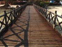 Boardwalk From Point Of Disembarkment