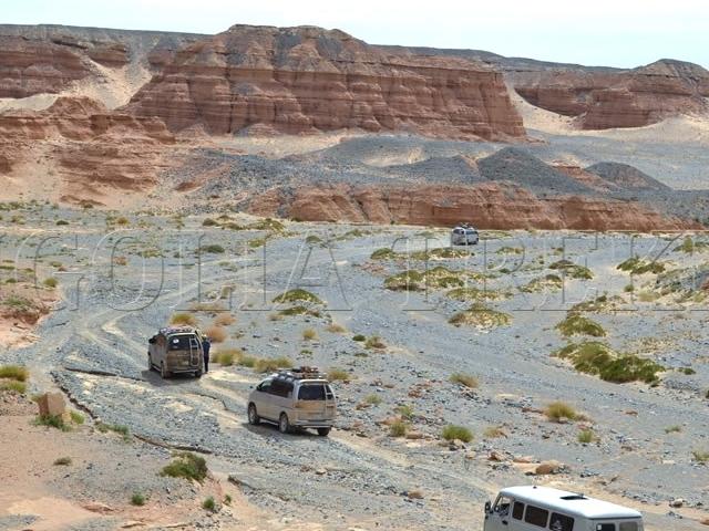 Gobi and Beyond Jeep Tour Photos