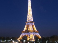 Eiffel Tower Sparklinglights