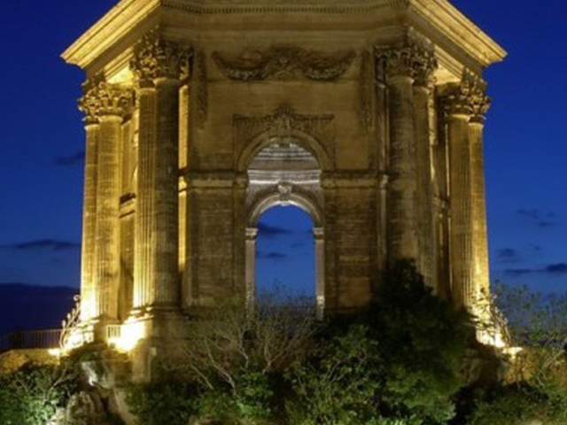 Montpellier by Night Photos