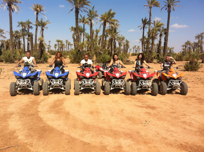Marrakech Palm Groves Quad Biking Activity Photos