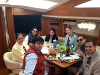 Free Champagne On Private Charter
