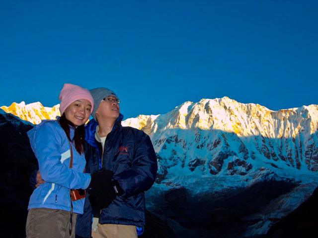 What about honeymoon in the highest pass 5416m? Photos
