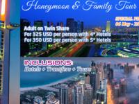 Dubai Honeymoon & Family Tours - Special Promotion