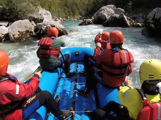 Rafting on Soča River Photos