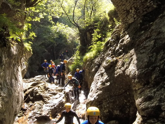 Canyoning in Sušec Canyon Photos