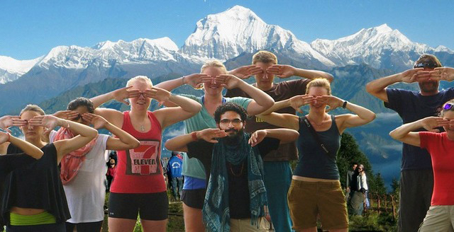 Nagarkot Yoga Trek Photos