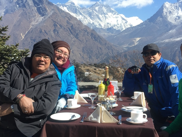 Everest for Breakfast Photos