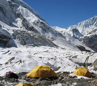 Dhaulagiri Base Camp