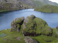 Sacred Frozen Lake