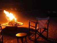 Fire Night At Traditional Agricultural Kamatha