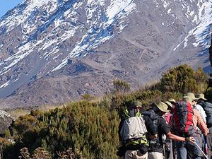 Mountain Kilimanjaro Marangu Route Fotos
