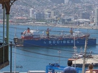 View From The Top Of Valparaíso