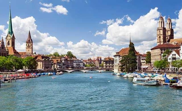 Switzerland - Zurich, Lucerne and Geneva Photos