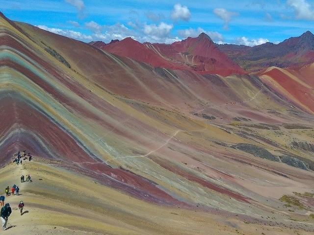 a Must Go Place - Rainbow Mountain Peru Photos