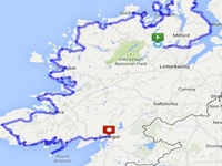 Wild Atlantic Way Cycle Maps 400x400