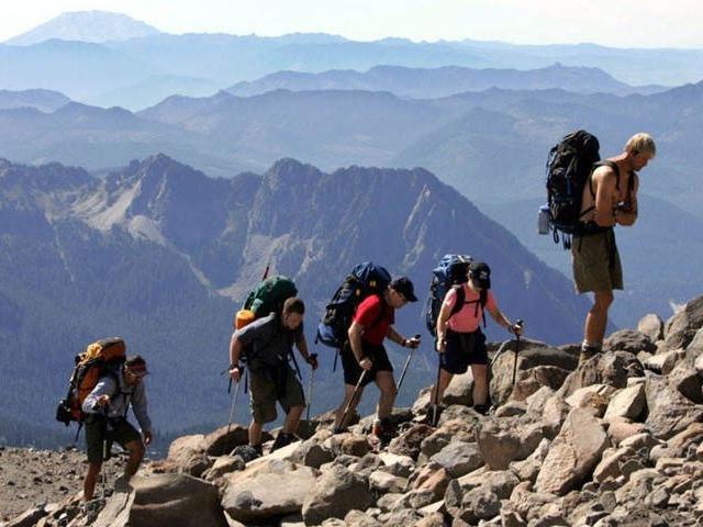 Sirimon Route Mount Kenya Climbing Treks Photos