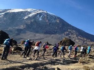7 Days Machame Route Climbing Fotos