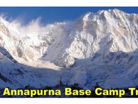 Annapurna Base Camp Trek Annapurna Sanctuary Trek