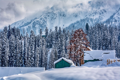 Kashmir Skiing Package Photos