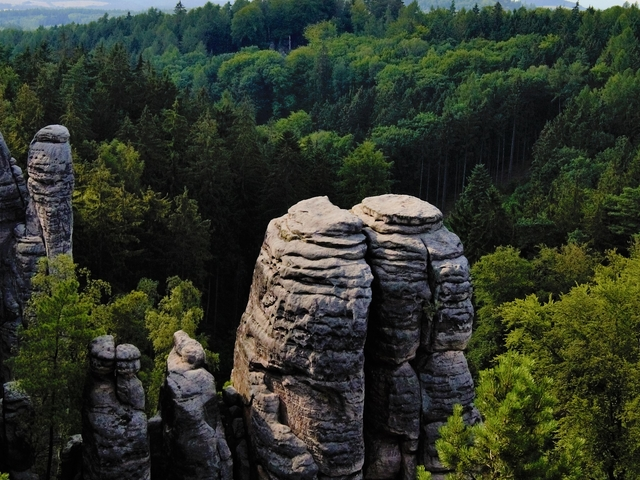 Bohemian Paradise Hiking Tour from Prague Photos