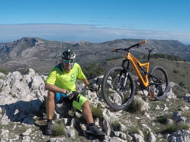 Mountain Bike Tour Sierra de Carrascal Photos