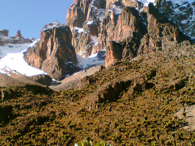 Mt Kenya Day Hike Photos
