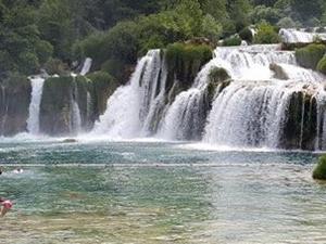 National Park Krka Waterfalls Photos