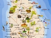 Srilankan Map