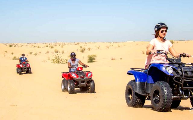 Morning Quad Bike Desert Safari Photos